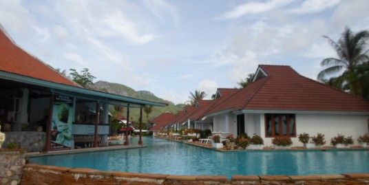 Boutique Resort on Dolphin Bay Beach